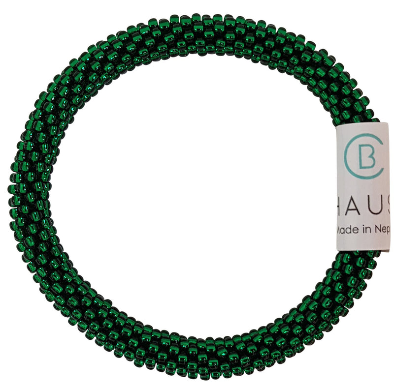 Emerald Kids Roll - On Bracelet