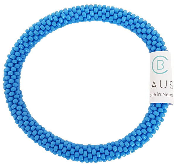 Cornflower Roll - On Bracelet