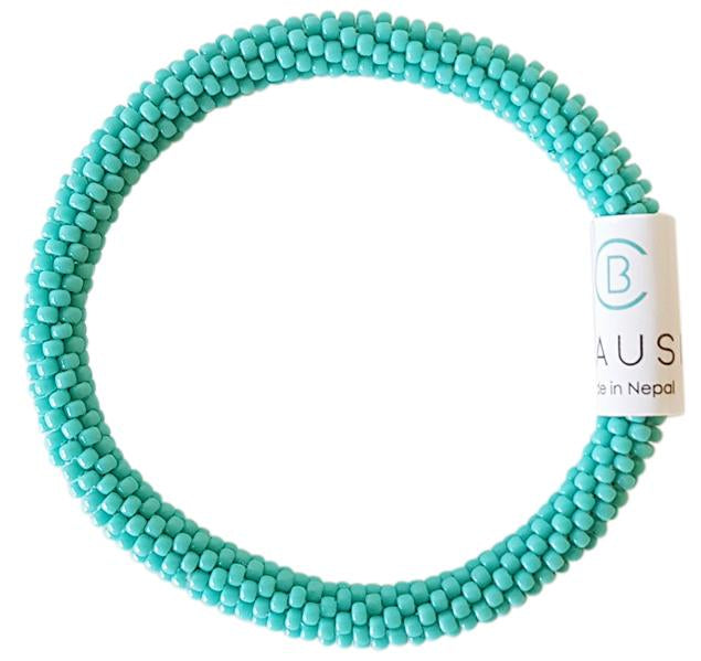 Turquoise Roll - On Bracelet - Chausie