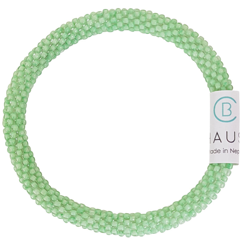 Celery Frosted Roll - On Bracelet