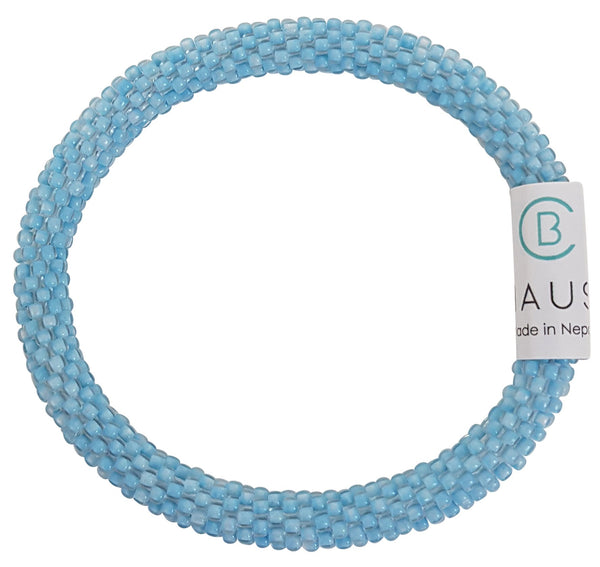 Ice Blue Roll - On Bracelet - Chausie