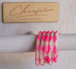 """Angelina"" Roll - On Bracelet - Chausie"