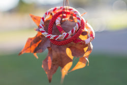 "Stack ""Autumn"" Roll - On Bracelet"
