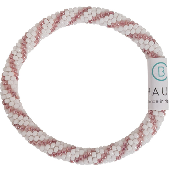 """Bailey"" Rose Roll - On Bracelet"