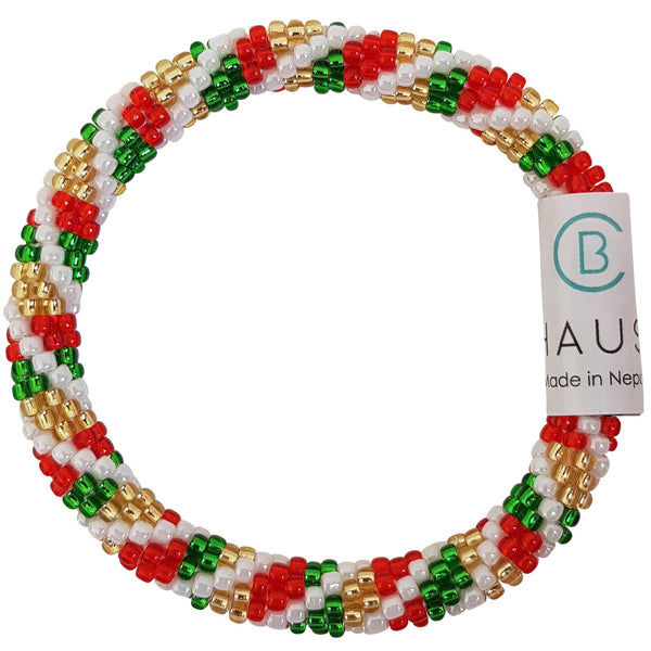 "Christmas Kids ""Candy Shop"" Roll - On Bracelet"
