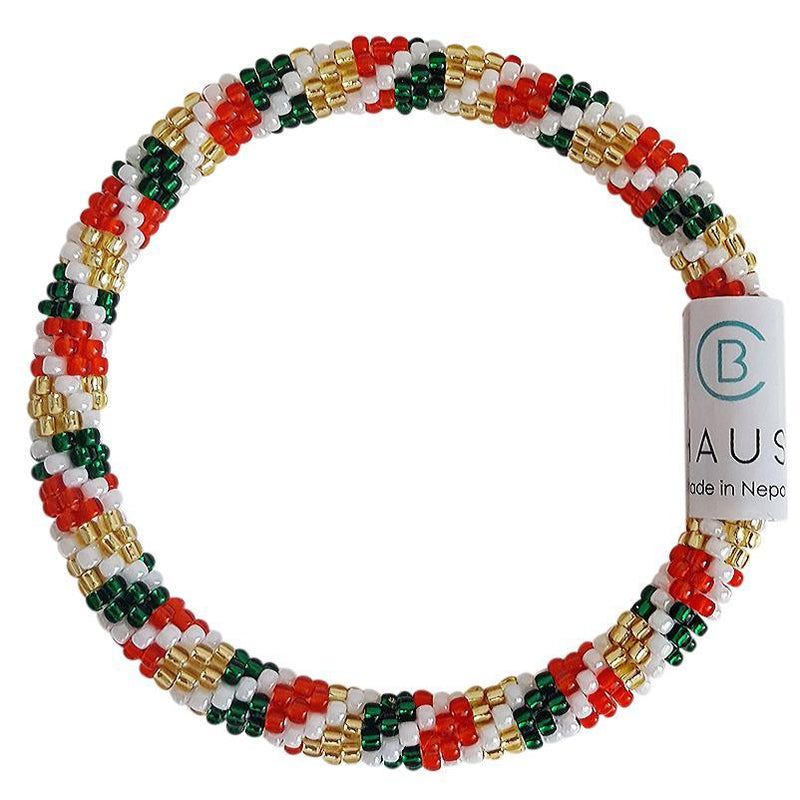 "Christmas Stack ""Christmas Treats"" Roll - On Bracelet"