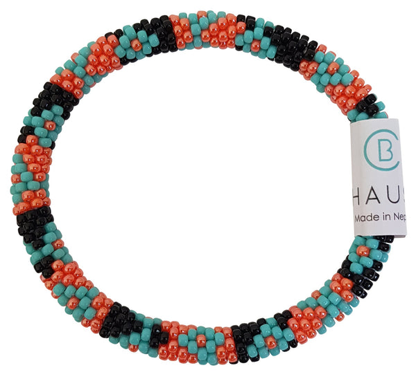 "Stack ""Sunset"" Roll - On Bracelet"