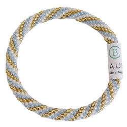 """Charlotte"" Blue Roll - On Bracelet - Chausie"