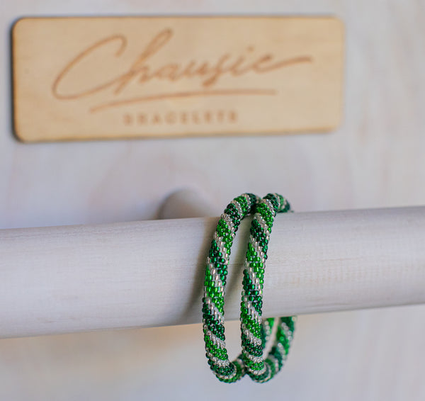 """Chiara"" Roll - On Bracelet"