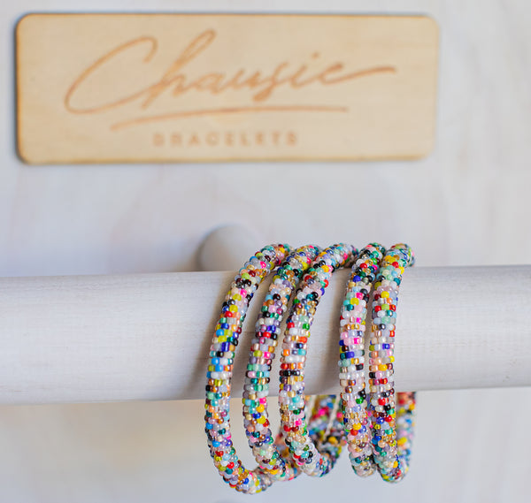 """Confetti"" Roll - On Bracelet"
