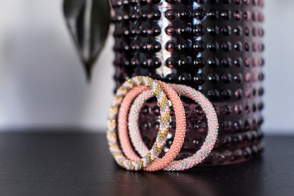 "Stack ""Flamingo"" Roll - On Bracelet"