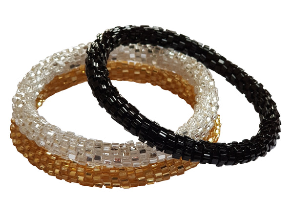 "Stack ""Glitz"" Roll - On Bracelet"