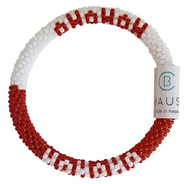 "Christmas ""Ho Ho Ho"" Roll - On Bracelet"