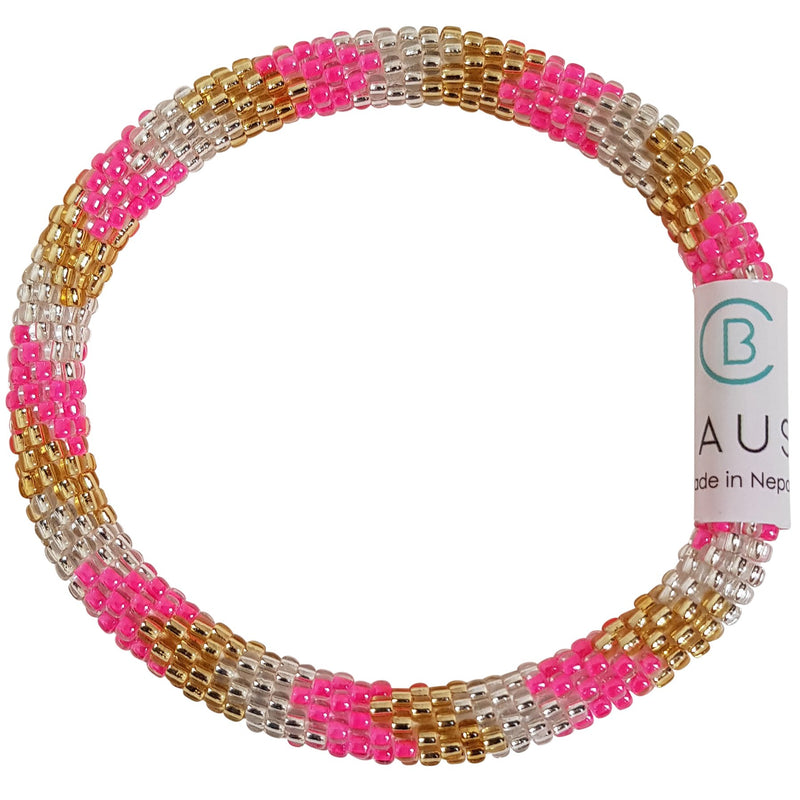 "Stack ""Shinning"" Roll - On Bracelet"