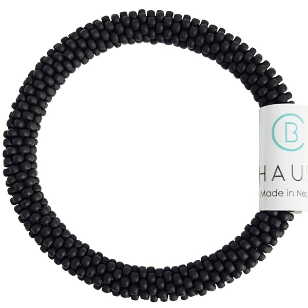"Kids ""Matte Black"" Roll - On Bracelet"