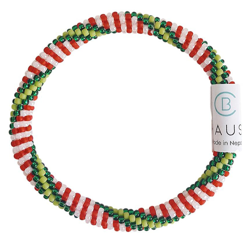 "Christmas ""Nutcracker"" Roll - On Bracelet"