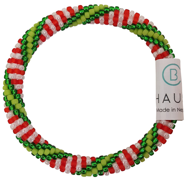 "Christmas Kids ""Nutcracker"" Roll - On Bracelet"