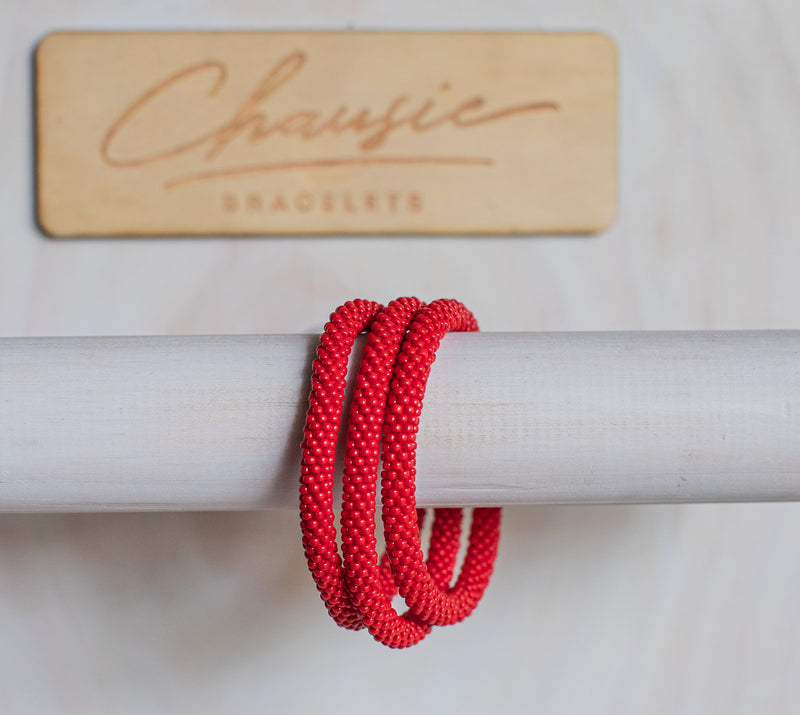 Pepper Red Roll - On Bracelet