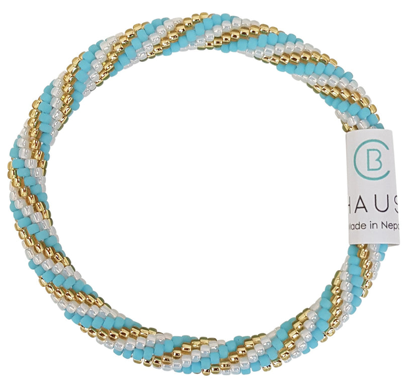 """Piper Blue"" Roll - On Bracelet"
