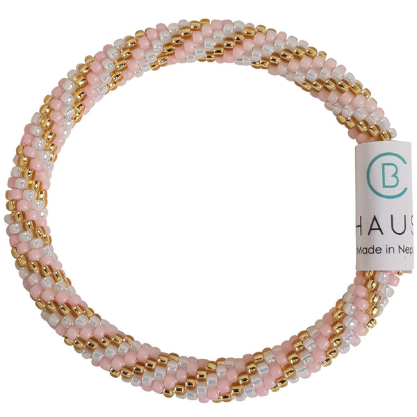 """Piper Pink"" Roll - On Bracelet"