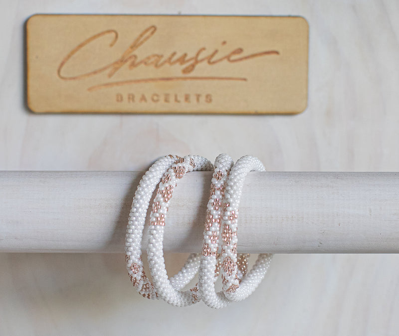 """Sarah Rose Gold"" Roll - On Bracelet"