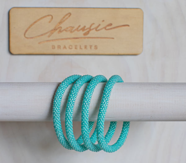 Sea Green Roll - On Bracelet
