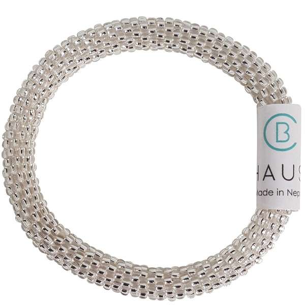 "Kids ""Silver Crystal"" Roll - On Bracelet"
