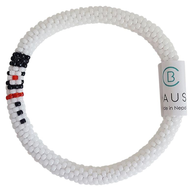 "Christmas ""Snowman"" Roll - On Bracelet"