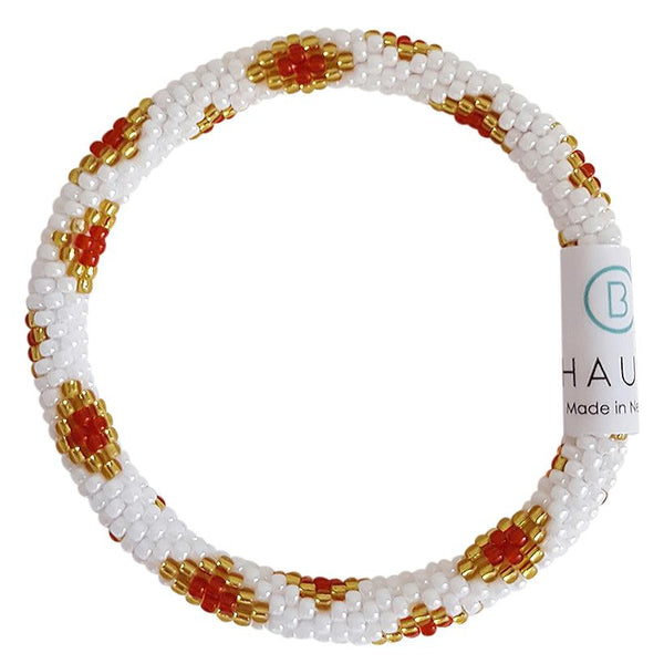 "Christmas ""Sofia"" Roll - On Bracelet"