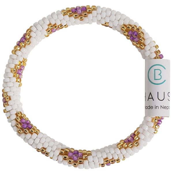 Sofia Purple Kids Roll - On Bracelet - Chausie