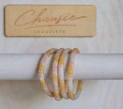 """Sonya"" Roll - On Bracelet"