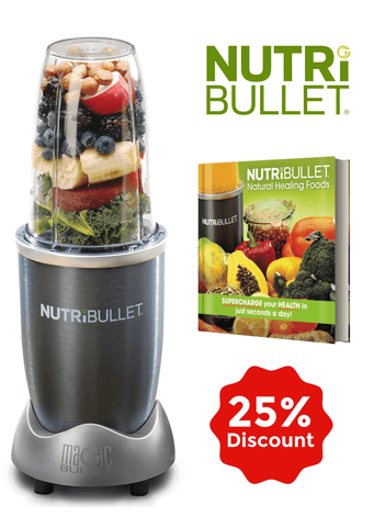 NutriBullet and Recipe Book Bundle