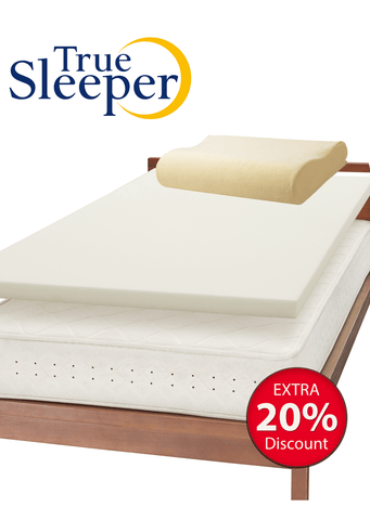 True Sleeper Premium with Neckfit Pillow Bundle