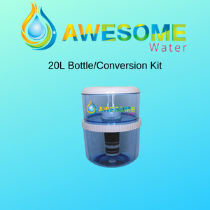 Buy 2 Filters GET 1 Free 20 L Bottle upgrade kit + Cleaning Spray! - Awesome Water