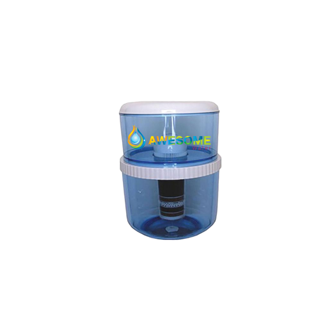 AWESOME WATER ECLIPSE PREMIUM NEW MODEL Bench Top Hot & Cold Dispenser in WHITE - Awesome Water
