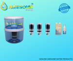 AWESOME WATER FILTERS - 8 Stage Filter - Premium, Buy 3 Bundle Pack + 20L Bottle Upgrade Kit & COOLER LOVERS Cleaning Bundle - Awesome Water