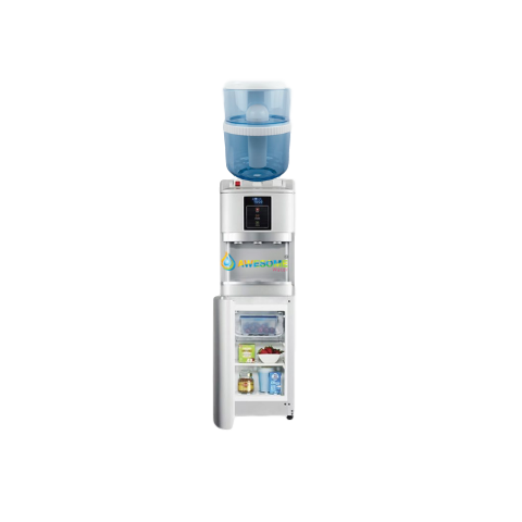 AWESOME WATER - SILVER - HOT, COLD & AMBIENT - FLOOR STANDING WATER DISPENSER WITH FRIDGE! - Awesome Water