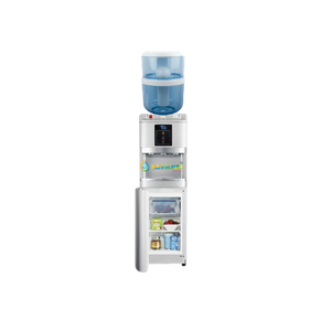Awesome Water Floor Standing Water Cooler  Hot Cold  Room + Fridge SILVER - Awesome Water