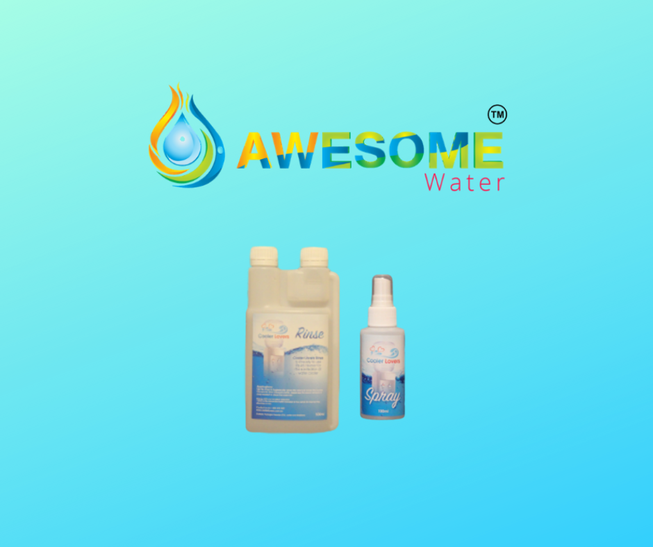 COOLER LOVERS - Rinse & Spray Sanitiser Bundle Pack - Awesome Water