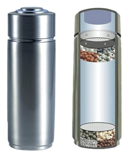 AWESOME WATER Stainless Steel Alkaline ULTRACERAM Water Bottle