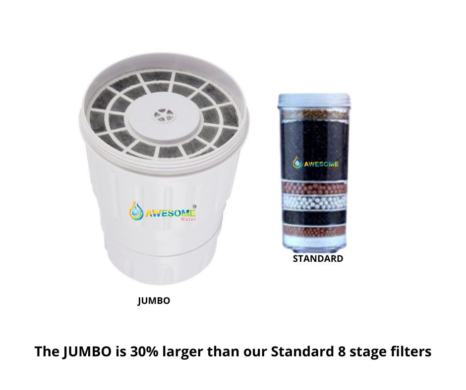Jumbo Filter with Algae Shield - Awesome Water
