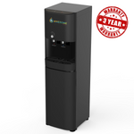 ELITE - BLACK - AUTO FILL (POU) - HOT & COLD - FLOOR STANDING WATER DISPENSER - Awesome Water