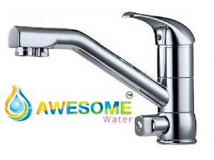 Mixer 3 Way STD Chrome - Awesome Water
