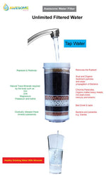 ECLIPSE - BLACK & SILVER - COLD & AMBIENT - BENCH TOP WATER DISPENSER! - Awesome Water