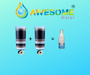 AWESOME WATER Buy One Stage 8 Filter & Get One FREE + Sanitiser & FREE delivery - Awesome Water