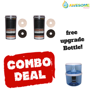 Massive filter Bundle, BUY 2 GET ONE FREE Bottle/upgrade kit! Huge Value! - Awesome Water