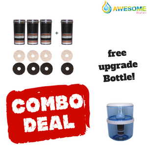 Massive filter Bundle , BUY 4 GET 1 Free Bottle/upgrade kit! Huge Value - Awesome Water