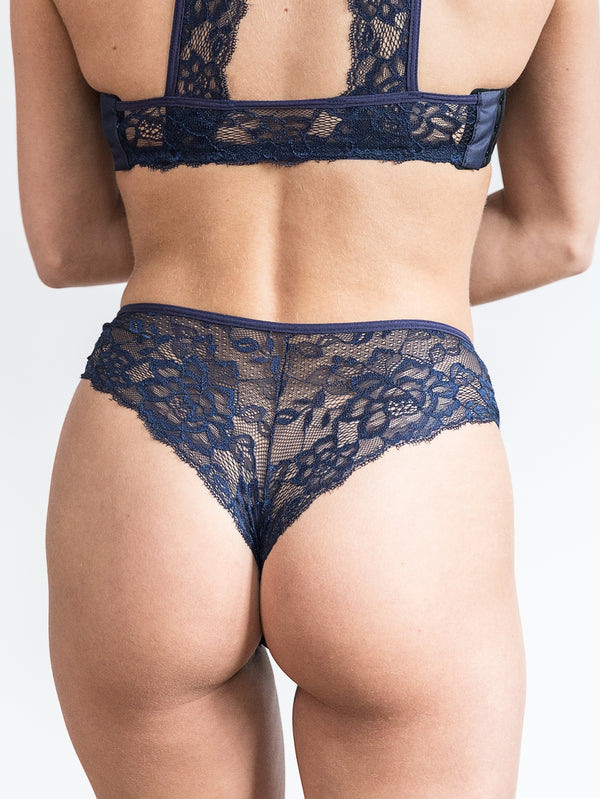 Iris Back-Laced Panties