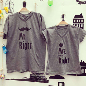 Camisetas Mr & Mrs