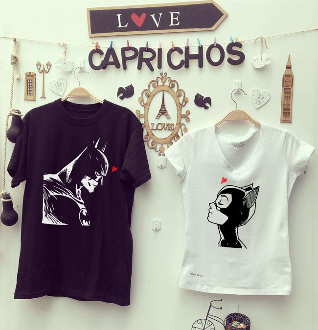 Camisetas Batman & Gatubela